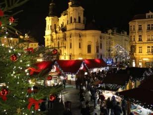 Коледна приказка в Прага